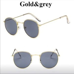 Gold Grey Sun Glasses✨ 👓